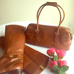 Cole Haan Trinity Brown Bag Satchel EUC
